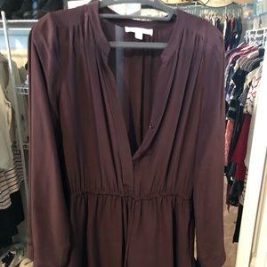 Piperlime Maroon dress